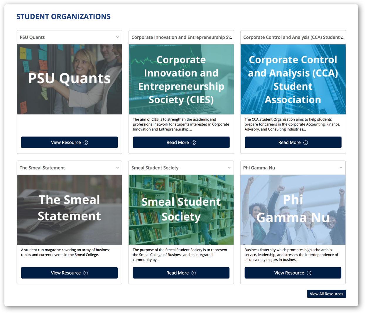 Smeal student orgs