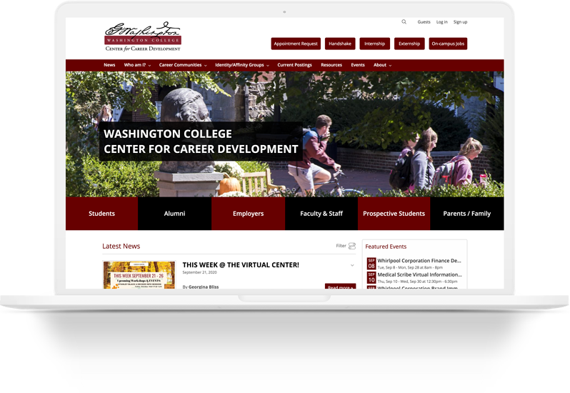 Washington College Laptop