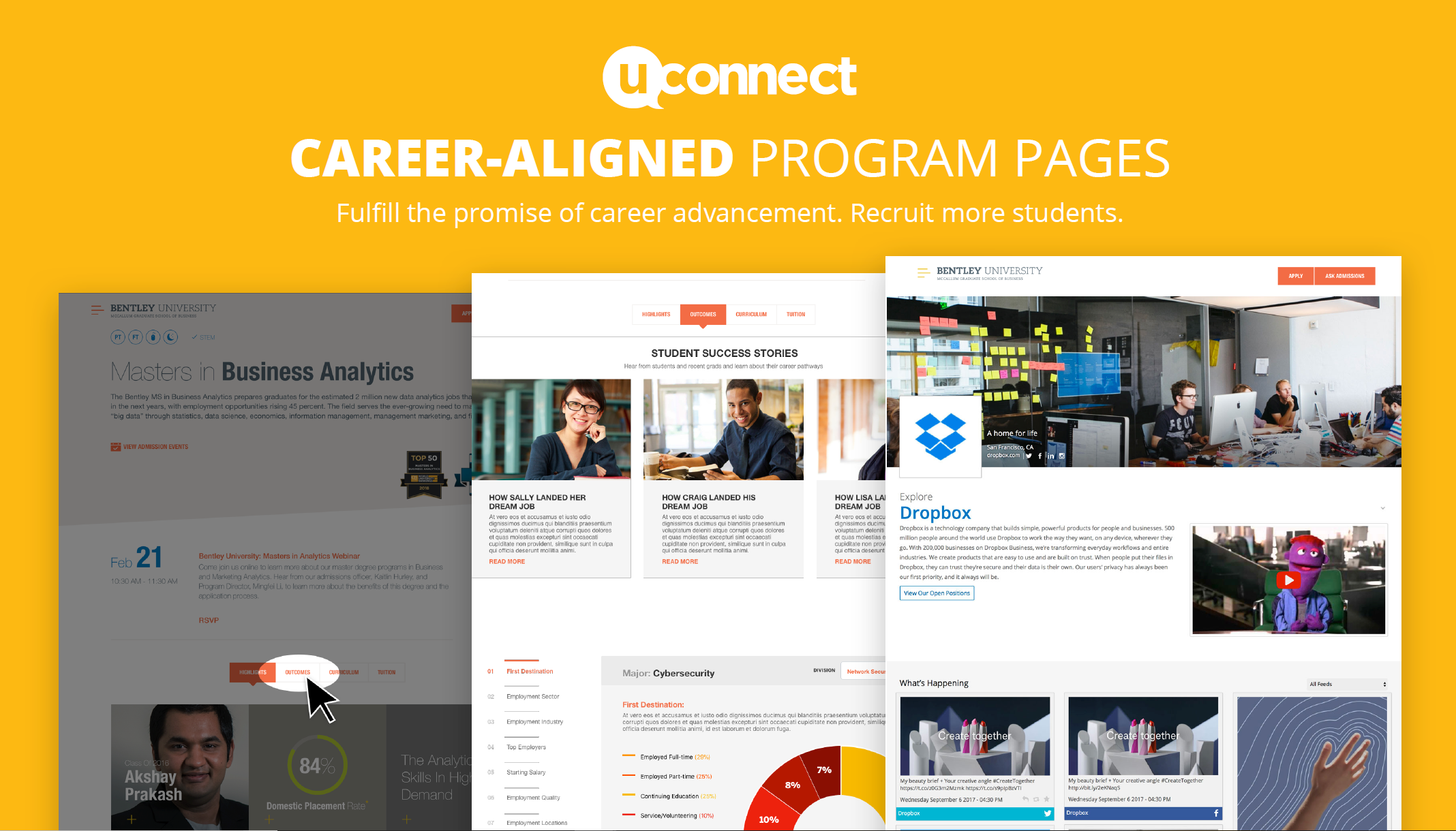 uConnect Announces launch of Career aligned program pages