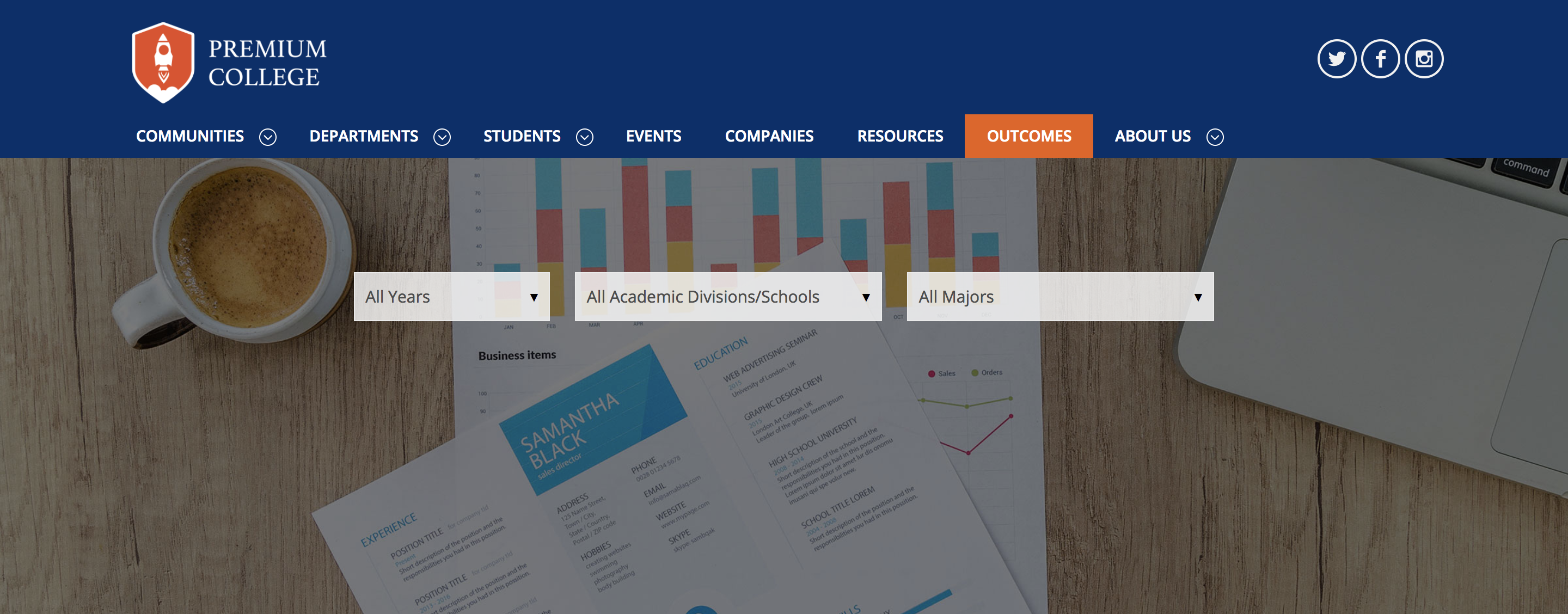 Shining a Light on Student Outcomes: Announcing Our New Outcome Data Visualization Tool