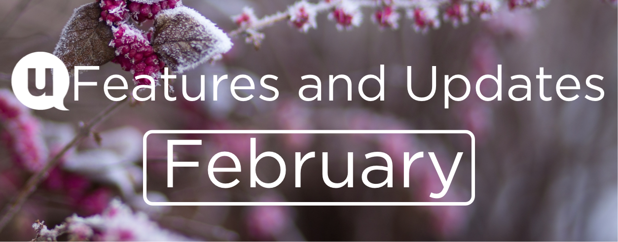 February 2021: Features and Updates
