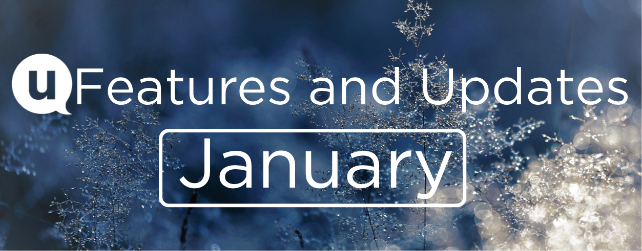 January 2021: Features and Updates