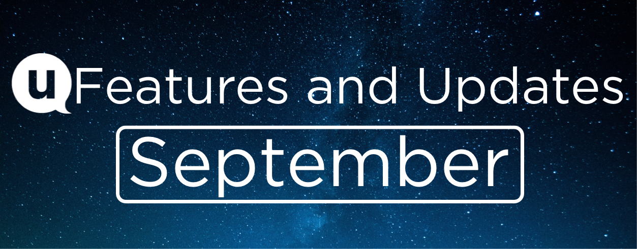 September 2021: Features and Updates