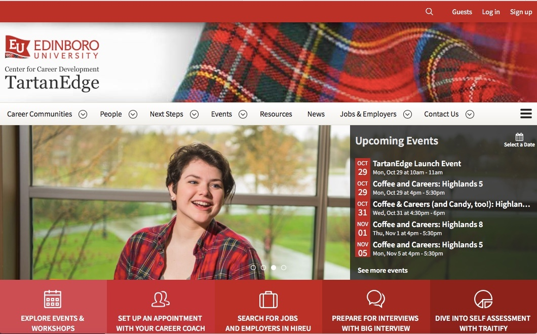 Edinboro continues commitment to innovative career services with uConnect partnership